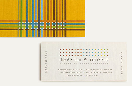 markow and norris-business cards