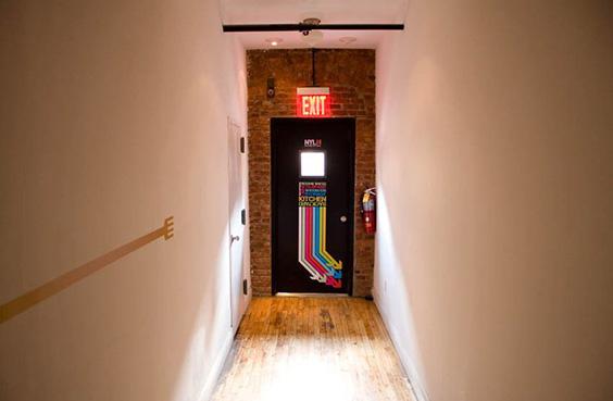 new york loft hostel-federico rozo-signage 9
