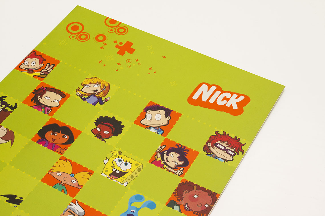 nickelodeon stationery